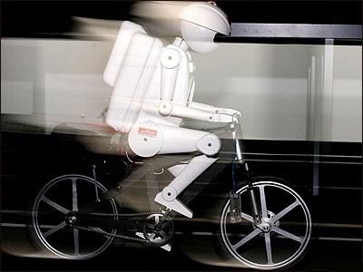Робот PRIMER-V2 будет ездить на велосипеде
