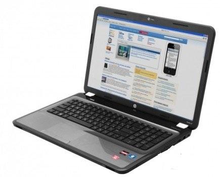 HP Pavilion g7-1201er: обзор ноутбука