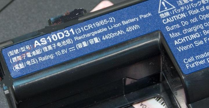 Параметры самой батареи