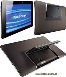 Гибрид планшета и смартфона ASUS Padfone показали в рабочем виде (видео)