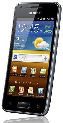 Samsung GALAXY S Advance — смартфон с двухъядерным процессором частотой 1 ГГц под управлением Android 2.3