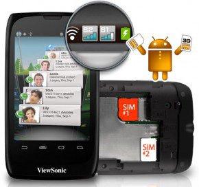 ViewPhone 3 – бюджетный Android-смартфон ViewSonic с поддержкой двух SIM-карт
