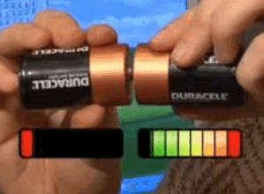 Как подзарядить батарейки