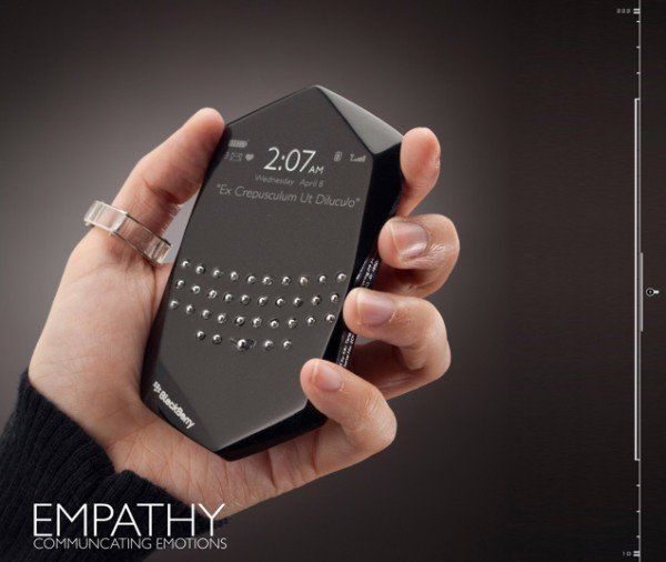 Blackberry Empathy Phone – телефон «считывающий» настроение владельца