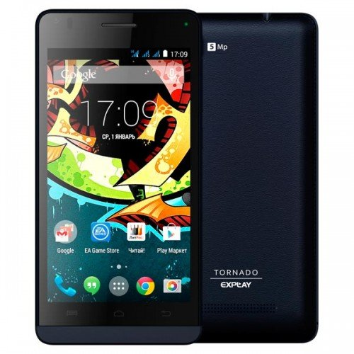 Explay Tornado – 3-х SIM-очный смартфон