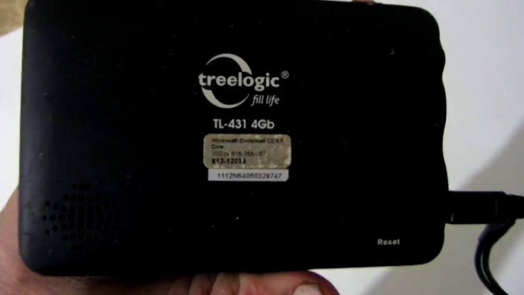 Как прошить GPS навигатор Treelogic
