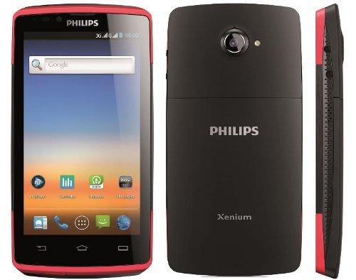 Philips Xenium W7555 - смартфон со стереодинамиками для меломанов