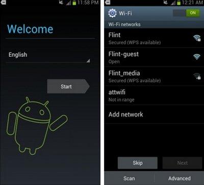 Как настроить интернет на Samsung Galaxy S3