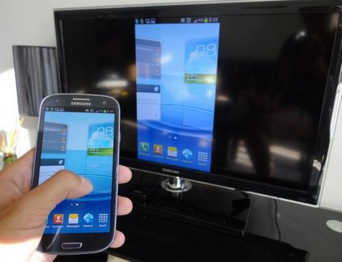 Как подключить Galaxy S3 к телевизору