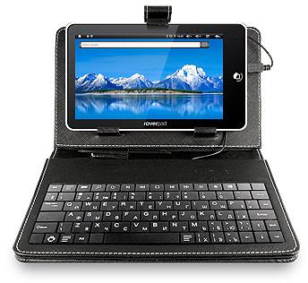 Необычный комплект планшета RoverPad 3W G70