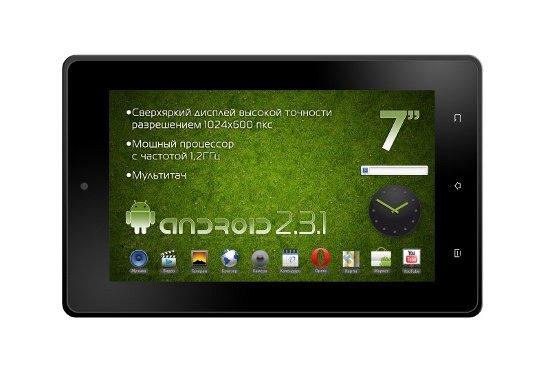 Недорогой планшет Explay MID-725 представлен в России