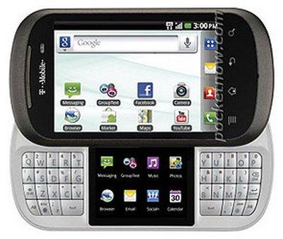 Компания LG представила смартфон с 2-мя экранами
