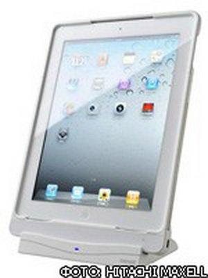 Гаджет для зарядки iPad 2 беспроводным способом