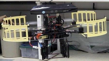 Автономный робот на основе AR.Drone