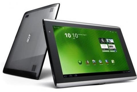 Тест на производительность планшета Acer Iconia Tab A510