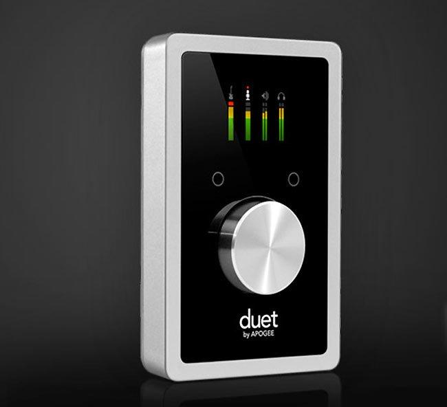 Apogee Electronics обнародовали новый преемник с удобным интерфейсом Duet audio для Mac