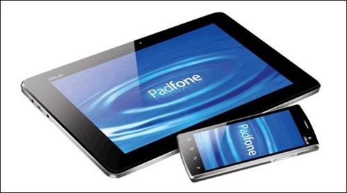 ASUS PadFone - планшет будет использовать процессор Qualcomm Snapdragon S4