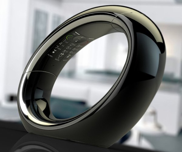 Eclipse DECT – круглый стационарный телефон