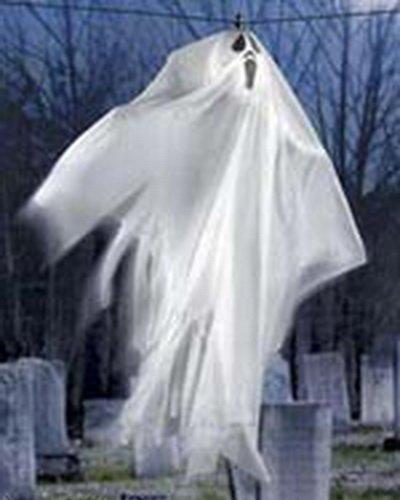 Гаджет не для слабонервных: летающий призрак для Хэллоуина