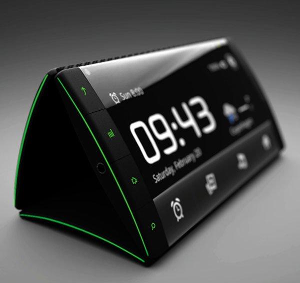Flip phone – концепт Android смартфона с тремя гибкими дисплеями