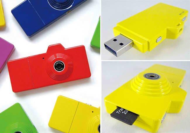 Фотоаппарат и USB flash в одном корпусе