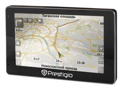 Навигатор GeoVision GV5400, с мультимедийными функциями