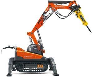Робот Husqvarna DXR 140 будет сносить здания