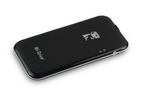 Представлен портативный беспроводной флеш-накопителя Kingston Wi-Drive