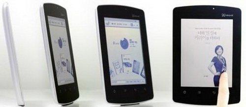 Первый в мире букридер с экраном Mirasol