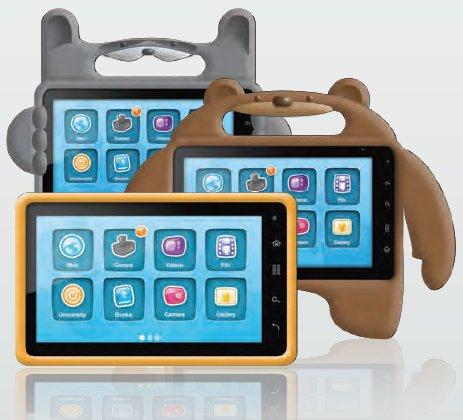 Компьютерный планшет Nabi доступен для детей