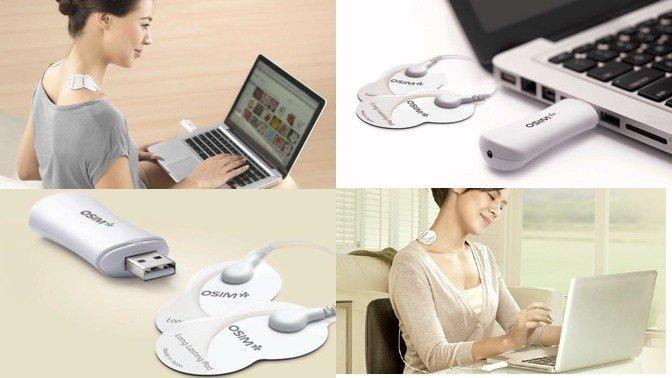 uPixie представила USB-массажёр