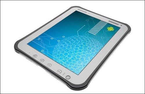 Планшет Panasonic Toughpad A1, имеющий 10-дюймовый экран