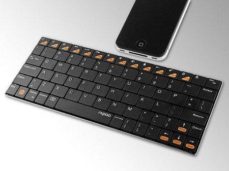 Представляем ультратонкую клавиатуру Rapoo E6300, не имеющую провода