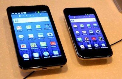 В продажу поступили мультимедийные плееры Samsung Galaxy Player 4 и 5