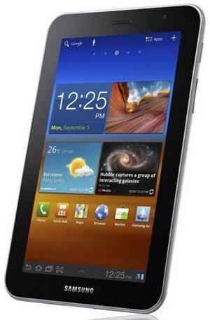 Европейская стоимость планшета Samsung Galaxy Tab 7.0 Plus названа
