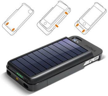Солнечный зарядник для iPhone