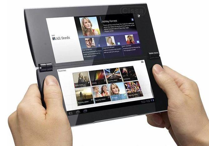 Продажа планшетника Sony Tablet P состоялась на территории Великобритании