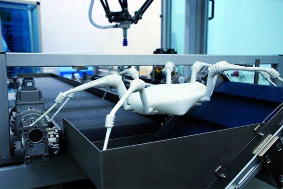 Робот наводящий ужас от Fraunhofer