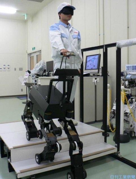 Робот для слепых людей