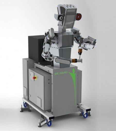 Промышленный робот pi4-workerbot