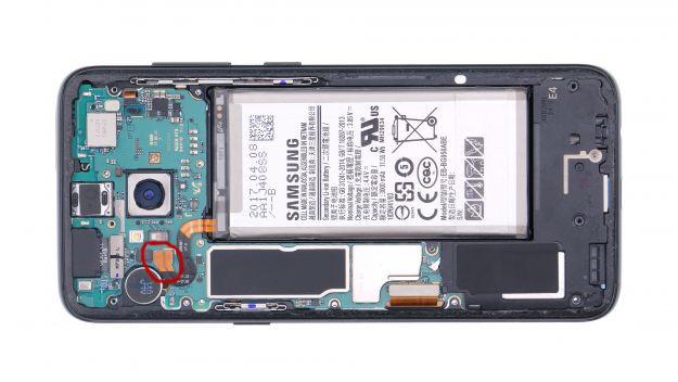 Samsung Galaxy S8 - Замена аккумулятора