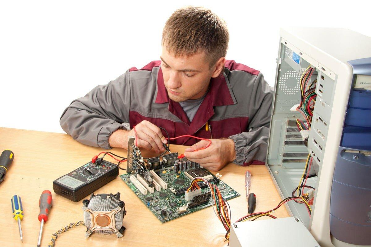О ремонте компьютеров